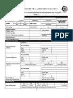 Application Form PGPEX v 2 5