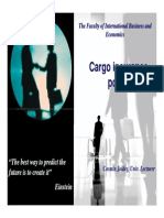 4. Cargo Insurance Policy