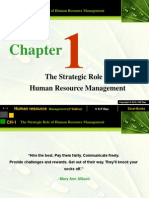 Ch 01-The Strategic Role of Human Resource Management