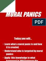 Moral Panics - Mods and Rockers
