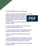 Program List c