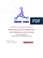 Eupoc 2003_final_program Pp Catalysts Mgcl2