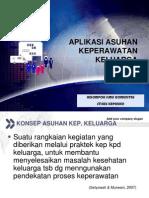 Aplikasi Askep Dalam Keperawatan Keluarga