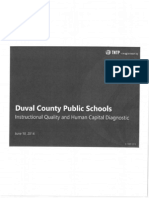 DCPS Instructional Quality & Human Capital Diagnostic