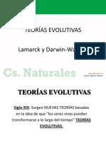 Power Semana 37 Noviembre 8B Teorias Evolutivas