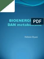 BIOENERGETIKA Dan Metabolisme
