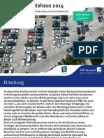 Studie Logistik Im Autohaus 2014 (Light Version)