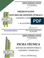 Estudio de opinion Hercon junio 2014.pdf