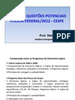 AEP_ Questoes Potenciais Para a Prova_ Raciocinio Logico_ Weber Campos