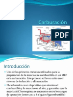 11. Carburación