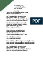 Barton Hollow Lyrics