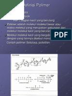 Definisi Dan Klasifikasi Polimer