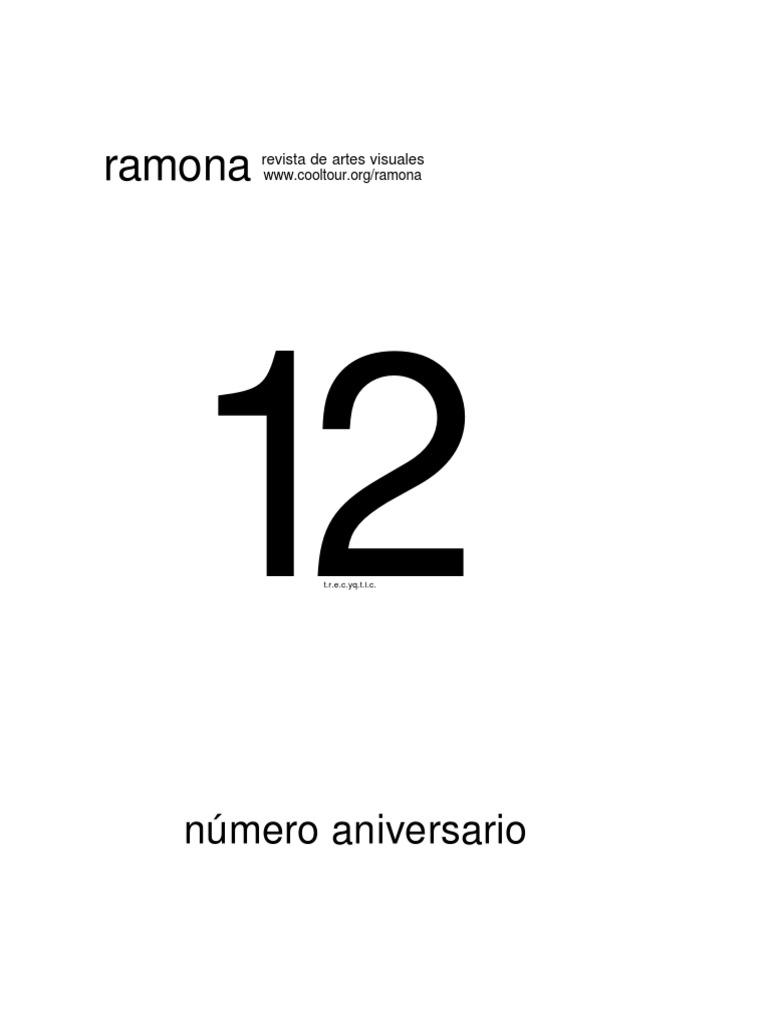 Ramona Edicion Aniversario 8791fd0e2afd1