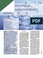 Produccion de Agua Desmineralizada Para Uso Industrial