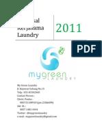 Contoh Proposal Kerjasama Laundry