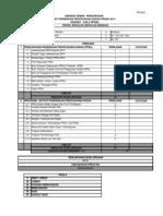 Analisis Senarai Semak PPD (SR)