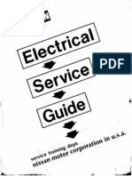 Service Manual Datsun Electrical Service Guide
