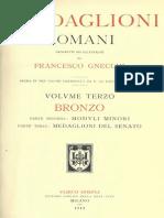 I medaglioni romani. Vol. III