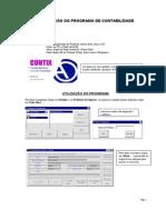 Instalação e Instruções Contabilidade