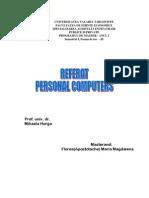 Referat Personal Computers