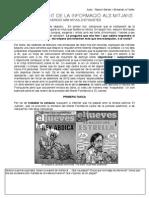 Activitat manipulació informativa