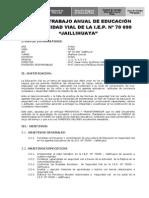 Plan de Trabajo Anual de Educación en Seguridad Vial_jaillihuaya