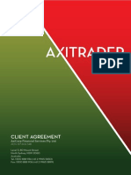 AxiTrader Client Agreement