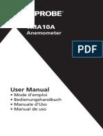 Anemometer - Tma10a