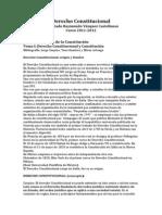 Apuntes Preliminares Derecho Constitucional