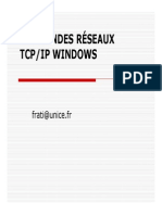 50-Commandes Reseaux Tcp-ip Pour Windows