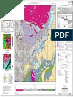 Folha geológica Baturité - CE