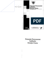 Petunjuk Penyususnan Indikator Kinerja Utama_KEMENPAN 2008