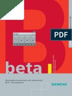 Manuales Catalogos Siemens-BETA5 Descargadores 05.07 Esp