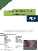 Problematica de Lotizacion en Trujillo