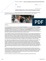 Denunciados Cinco Alumnos de Girona Por Ciberacosar a Compañeros
