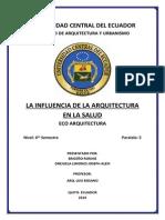 Influencia de La Salud en La Arquitectura (2)