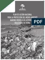 Plan de Accion Nacional Para La Protección Del Medio Marino Frente a Las Actividades Realizadas en Tierra2