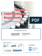 IPA Webinar -Residual Solvents Understanding the Requirements Feb 2011[1]