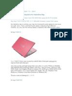 Laptop Pink 1
