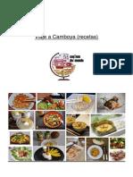 Viaje a Camboya (Recetas)