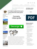 10 Mejores Aplicaciones Para Hacer Planos de Casas Gratis _ Construye Hogar