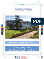 2014 Windsor University Commencement Ceremony PROOF (1)