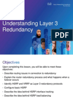 Layer 3 Redundancy - HSRP