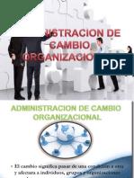 Gestion Administracion Del Cambio Organizacional