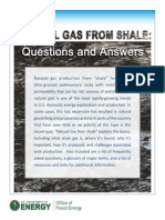Natural Gas From Shale - Questions&Answers