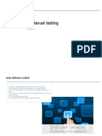 JD Test Engineer- Manual Testing