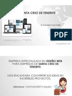 Diseño Web Santa Cruz de Tenerife