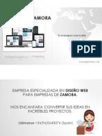 Diseño Web Zamora