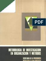 69metodologia de Investigacion en Organizacion y Metodos