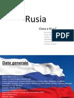 Referat Rusia